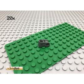 LEGO® 20Stk Technic Kreuz Pin Verbinder Dunkel Grau, Dark Gray 6536