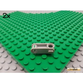 LEGO® 2Stk Technic Verbinder / Gelenk 3 lang alt-hellgrau 32068