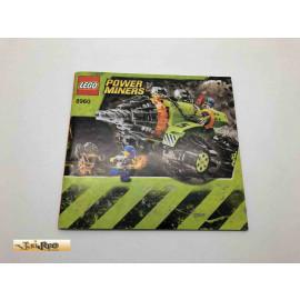 Lego 8960 Bauanleitung NO BRICKS!!!! Power Miners