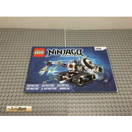 LEGO® 70726 Bauanleitung NO BRICKS!!!! Ninjago