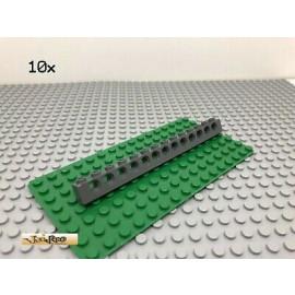 LEGO® Technic 10Stk 1x14 Lochbalken Dunkel Grau, Dark Gray 32018
