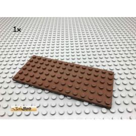 LEGO® 1Stk 6x14 Platte Bauplatte Brick Braun, Brown 3456 160