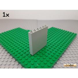 LEGO® 1Stk Mauer / Paneel / Wand 1x6x5 alt-hellgrau 3754