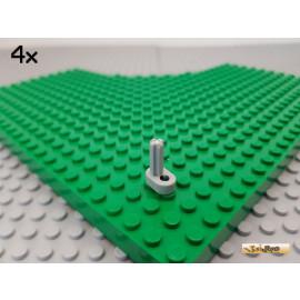LEGO® 4Stk Technic Kurbelwelle / Motor alt-hellgrau 2853