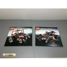LEGO® 8048 Bauanleitung NO BRICKS!!!! Technic