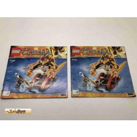 Lego 70144 Bauanleitung NO BRICKS!!!! Chima