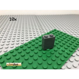 LEGO® 10Stk 1x2x2 Säule Säulenstein Stütze Dunkel Grau,Dark Gray 3245