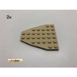 LEGO® 2Stk 7x6 Bauplatte Basic Brick Beige, Tan  50303 bt