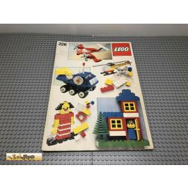 LEGO® 226 Bauanleitung NO BRICKS!!!!
