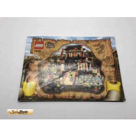 Lego 7419 Bauanleitung NO BRICKS!!!! Orient Expedition