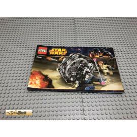 LEGO® 75040 Bauanleitung NO BRICKS!!!! Star Wars