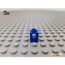 LEGO® 5Stk Technic Lochstein / Lochbalken 1x1 blau 6541