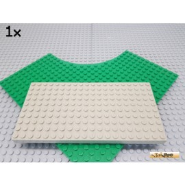 LEGO® 1Stk Grundplatte / Platte 10x20 alt-hellgrau 700eG
