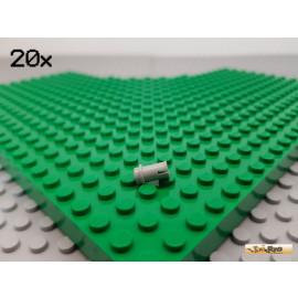LEGO® 20Stk Technic Pin kurz / Verbinder alt-hellgrau 4274