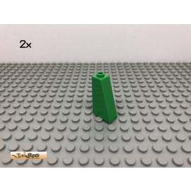 LEGO® 2Stk 1x2x3 75° Schrägstein Dachsteine Hellgrün, light green 4460 3