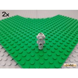 LEGO® 2Stk Kamera / Motor 1x2x2/3 alt-hellgrau 4595