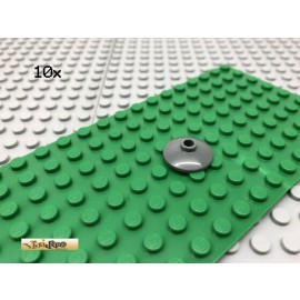 LEGO® 10Stk 2x2 Radar Satschüssel Rund Dunkel Grau,Dark Gray 4740