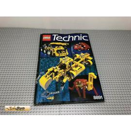 LEGO® 8891 Bauanleitung NO BRICKS!!!! Technic