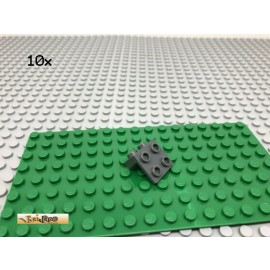 LEGO® 10Stk 2x2 2x1 90° Winkel Winkelplatte Grau, Dark Gray 44728
