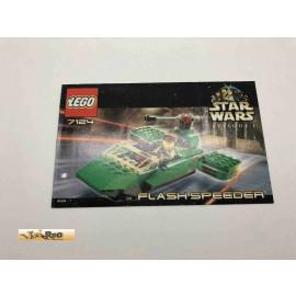 Lego 7124 Bauanleitung NO BRICKS!!!! Star Wars