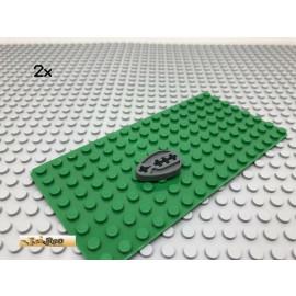 LEGO® 2Stk Technic Exzenter Scheibe Nocken Dunkel Grau, Dark Gray 6575