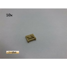 LEGO® 10Stk 1x2 Platten mit Haltestab Brick Beige, Tan 48336 147