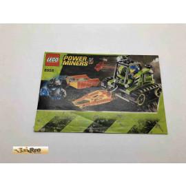 Lego 8958 Bauanleitung NO BRICKS!!!! Power Miners