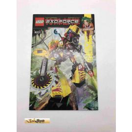 Lego 8113 Bauanleitung NO BRICKS!!!! Exoforce