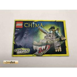 Lego 70126 Bauanleitung NO BRICKS!!!! Chima