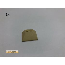 LEGO® 1Stk 3x4x1 Dachstein Schrägstein Keilstein 33° Brick Beige, Tan 4861 122