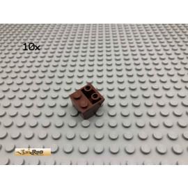 LEGO® 10Stk 2x2 45° negativ Schrägstein Brick Rotbraun, Reddish Brown 3660 153
