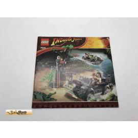 Lego 7625 Bauanleitung NO BRICKS!!!! Indiana Jones