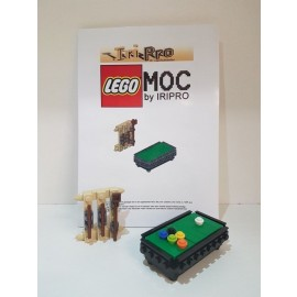 Lego Billardtisch ( iripro MOC )  nur Bauanleitung , only instruction