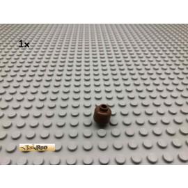 LEGO® 1Stk Minifigur Kopf ohne Gesicht Braun, Brown  187