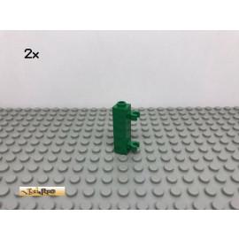 LEGO® 2Stk 1x1x3 Stein mit 2 Clips Grün, Green 60583 167