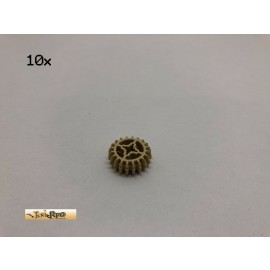 LEGO® 10Stk Technic Zahnräder 20 Zähne Brick Beige, Tan 32269 47