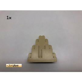LEGO® 1Stk 3x8x3 Fels Burgwand Berg Brick Beige, 6083 82