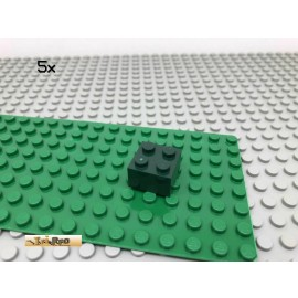LEGO® 5Stk 2x2 Basic Stein Dunkelgrün, Dark Green 3003 55