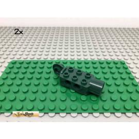 LEGO® 2Stk 2x3 Technic Rotation Gelenk Dunkelgrün, Dark Green 47432 30a