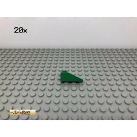 LEGO® 20Stk 1x3 33° Dachstein Grün, Green 4286 71