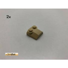 LEGO® 2Stk 2x2 Schrägstein Brick Beige, Tan 41855 ca
