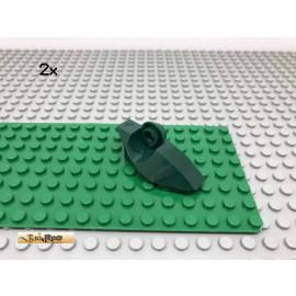 LEGO® 2Stk Technic Bionicle Fuß Gelenk Dunkelgrün, Dark Green 47430 43