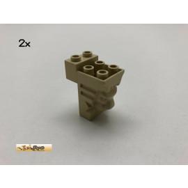 LEGO®  2Stk 2x3x3 Löwenkopf Brick Beige, Tan 30274 bv Harry Potter