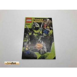 Lego 8962 Bauanleitung NO BRICKS!!!! Power Miners