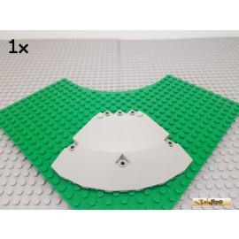 LEGO® 1Stk Paneel / Cockpit / Tragfläche 10x10x2 Viertelkreis alt-hellgrau 30117