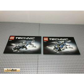 LEGO® 42020 Bauanleitung NO BRICKS!!!! Technic