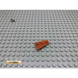 LEGO® 3Stk Flügelplatten Dunkelorange, Braun Orange 43722 4