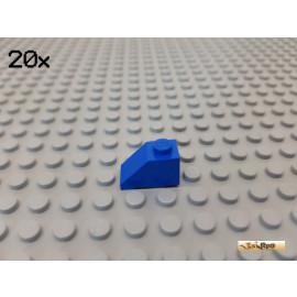 LEGO® 20Stk Dachstein / Schrägstein 1x2 45° 3040