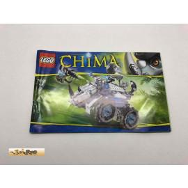 Lego 70131 Bauanleitung NO BRICKS!!!! Chima