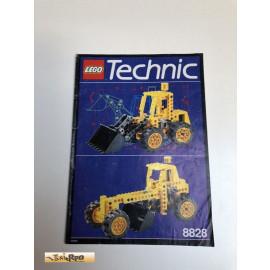 Lego 8828 Bauanleitung NO BRICKS!!!!